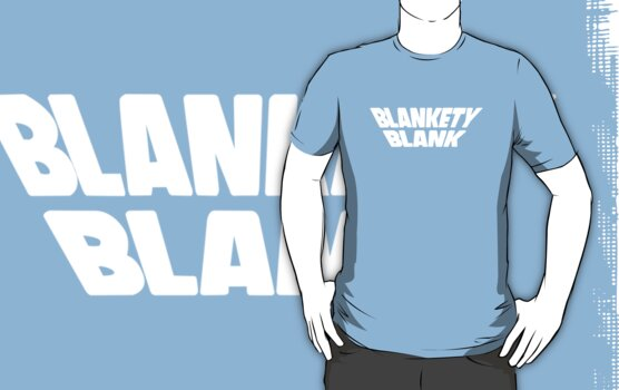 Blankety Blank by tvcream