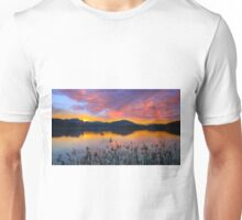 Dusk at Lake Wörthersee Unisex T-Shirt