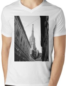 Saint Stephens Cathedral - Vienna Mens V-Neck T-Shirt