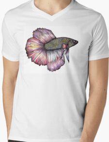 Bright Fish Mens V-Neck T-Shirt