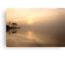 Loch Ard Morning Mist Canvas Print
