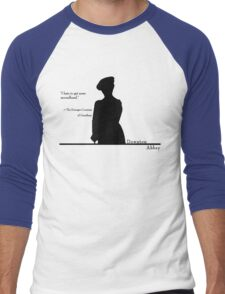 I hate to get news secondhand Men's Baseball ¾ T-Shirt