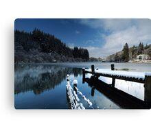 Loch Ard in Winter Canvas Print