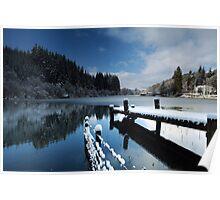 Loch Ard in Winter Poster
