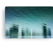 Reality Reflected Canvas Print