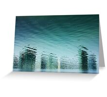 Reality Reflected Greeting Card