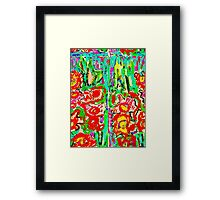 Another Abstract Flower Digital Design Framed Print