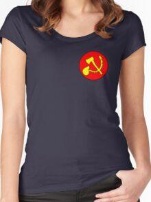 Zommunist - The Dead Terror Women's Fitted Scoop T-Shirt