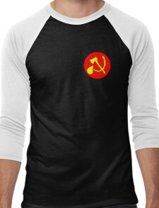 Zommunist - The Dead Terror Men's Baseball ¾ T-Shirt