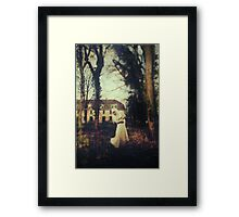 White witch Framed Print
