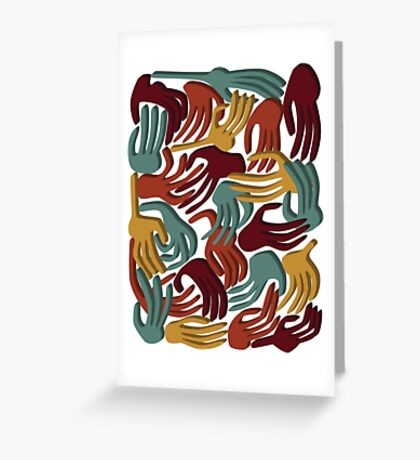 Hands Superposition WLJ71 Greeting Card