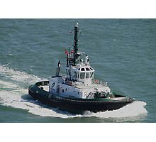 Tractor Tug 'America' Photographic Print