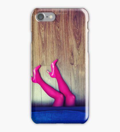 Crime scene iPhone Case/Skin