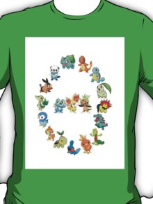 6 Generations of Starters T-Shirt
