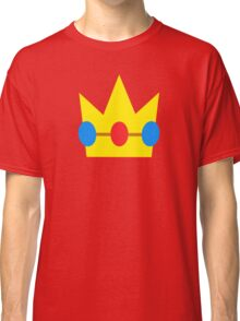 Super Mario Peach Icon Classic T-Shirt