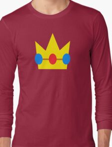 Super Mario Peach Icon Long Sleeve T-Shirt