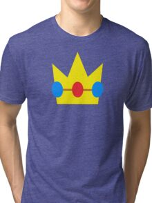 Super Mario Peach Icon Tri-blend T-Shirt