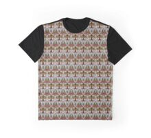 Abstract kaleidoscope figure and faces Graphic T-Shirt