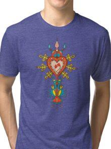 Heart Rules Tri-blend T-Shirt