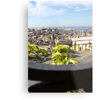 Overlooking Genova Metal Print