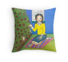 The Vengeful Desperate Housewife Throw Pillow