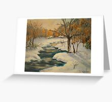 Winter Interlude Greeting Card
