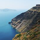 Steep Coast Line in Santorini Bay VRS2 by vivendulies