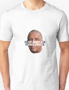 Pete Price - FILTHY BEATS AND TENNER SWEETS T-Shirt