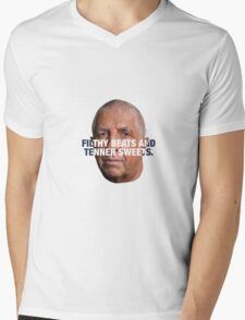 Pete Price - FILTHY BEATS AND TENNER SWEETS Mens V-Neck T-Shirt