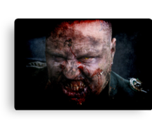 Zombie General II Canvas Print