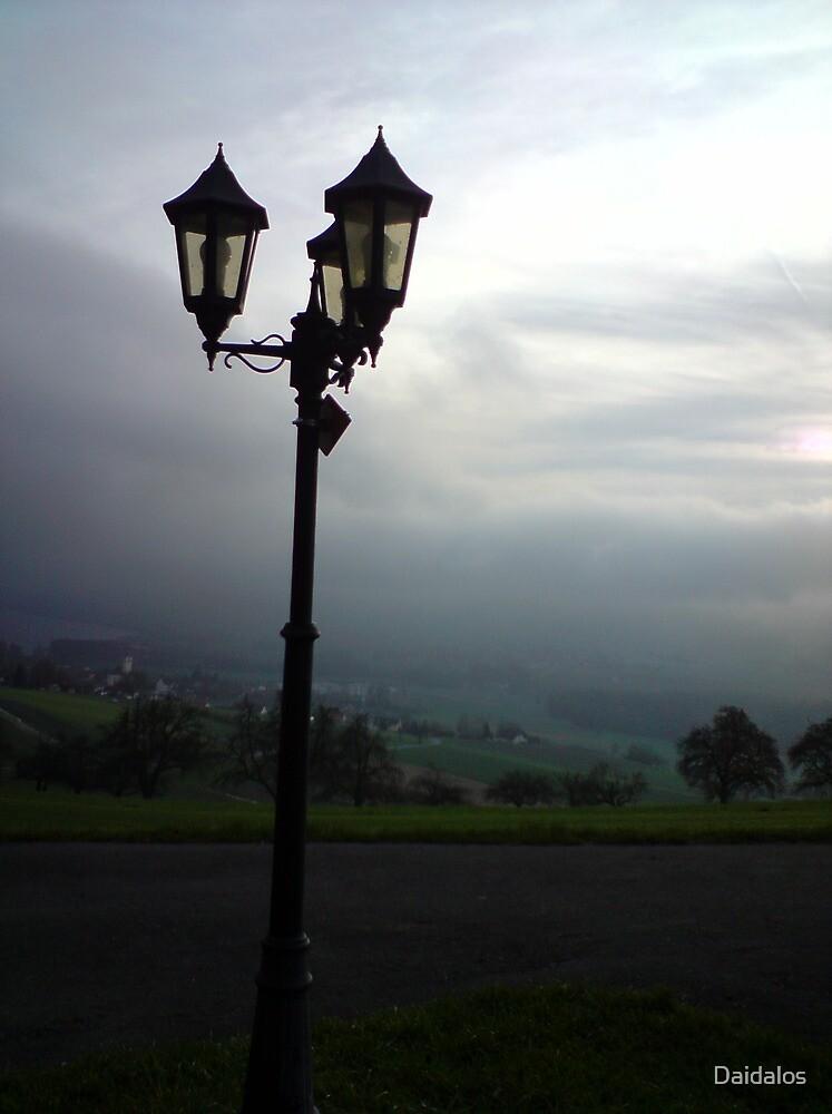 Serenity at dusk by Daidalos
