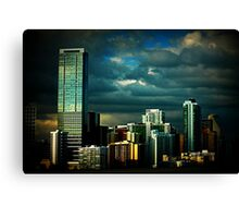 Miami view Canvas Print