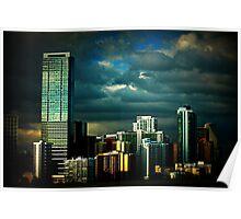 Miami view Poster