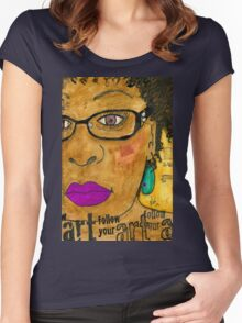 InSIGHTful Women's Fitted Scoop T-Shirt