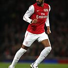 Thierry Henry Arsenal 2012 Poster by Thierry Henry14.net