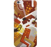 Autumn Nova - Abstract Acrylic Canvas Painting iPhone Case/Skin
