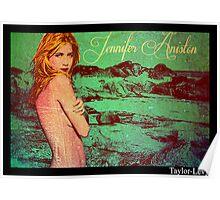 Jennifer Aniston Pop Art poster 2 Poster