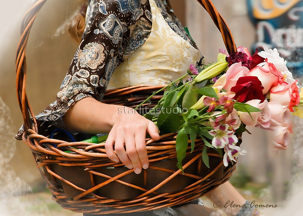Flowers for Milady by starlitestudio