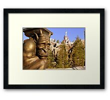 Pathway to the Castle Framed Print