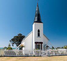 raukokore historic church by Anne Scantlebury