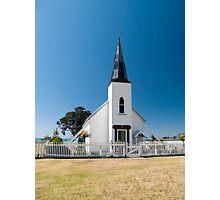 raukokore historic church Photographic Print
