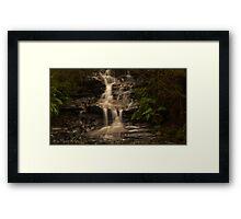 Leura Falls - Leura AU Framed Print