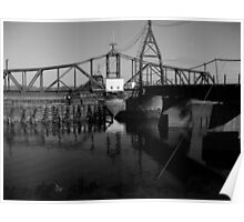 Turntable Bridge Mississippi Poster