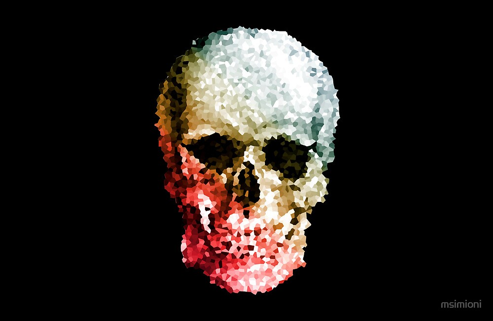 Skull coloride by msimioni