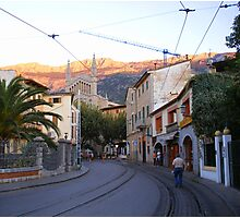 Arriving In Soller Photographic Print