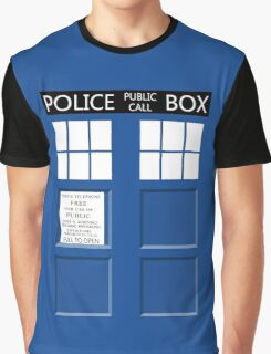 Tardis Shirt Graphic T-Shirt