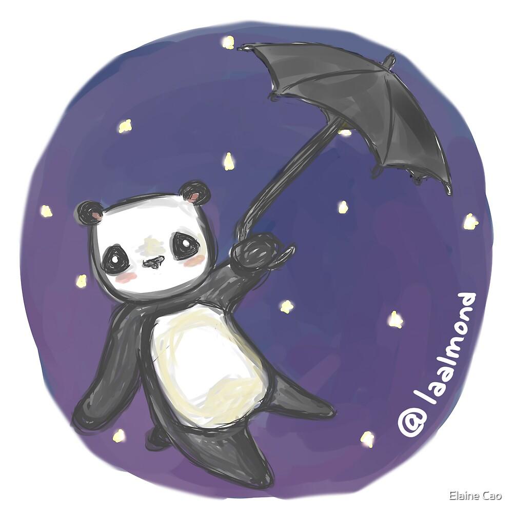 Panda Poppins by Elaine Cao