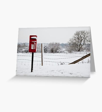The postbox Greeting Card