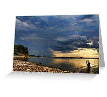 The Promise Of A Storm Greeting Card