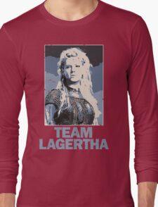 Team Lagertha - Vikings, History Channel Long Sleeve T-Shirt